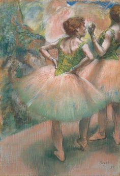 エドガー・ドガ 《踊り子たち、ピンクと緑》