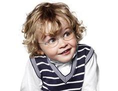 Lindberg Kid es la estrella de la linea de gafas para niños de Llobet Optics. $250