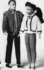 Ski Jacket | No. 777 | Doll Clothes Pattern | Knitting Patterns