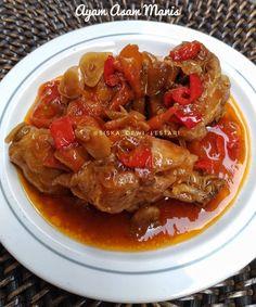 Resep ayam asam manis © 2020 Instagram/@maybelin_ma ; Instagram/@mrs.wijaya Pork, Food And Drink, Beef, Instagram, Kale Stir Fry, Ox, Pork Chops, Steak