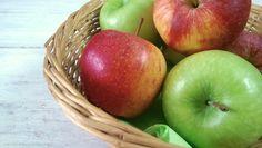 Hühnchen mit karamellisierten Äpfeln und Lauchzwiebeln / Chicken with caramelised Apples