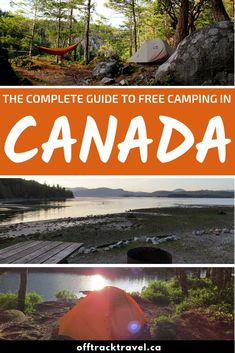 Whether you use a van, RV or tent, there are so many opportunities to find free camping in Canada. Discover our secrets of finding free camping options Rv Camping Tips, Camping Spots, Camping Supplies, Camping Essentials, Camping Survival, Tent Camping, Outdoor Camping, Camping Ideas, Camping Stuff