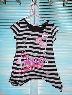 Hello Kitty Girls Shirt XS Size 4/5