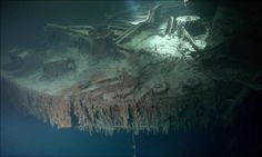 Undersea Photos of the Titanic Wreckage  (42 pics) - Picture