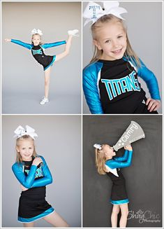 Cheerleading studio pictures
