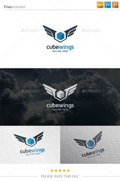 Cube Wings Logo (Transparent PNG, Vector EPS, AI Illustrator, Resizable, CS, agency, air, blue, colored, Colored Cube, colorful, cube, cube logo, digital cube, Digital logo, geometric, geometry, hexagonal, internet, letter s logo, media, modern, multimedia, S logo, shape, sky, Smart Cube, square, studio, triangle, web, wings)
