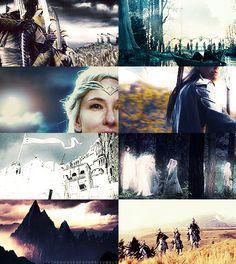 The Noldor, who chose exile in Middle-earth...The stronghold of the Noldor in the Third Age was Imladris, or Rivendell, under the leadership of Lord Elrond Half-elven. One other Noldo, Lady Galadriel, held guardianship over the Sindar realm of Lothlorien with her Teleri husband, Lord Celeborn.