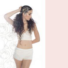 Editorial de ropa interior para novias exclusiva de El Ajuar: Within