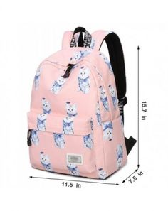 7bab2d37b888 Kid Child Girl Cute Patterns Printed Backpack School Bag11.5