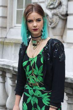 Street Style visto en London Fashion Week  #LFW