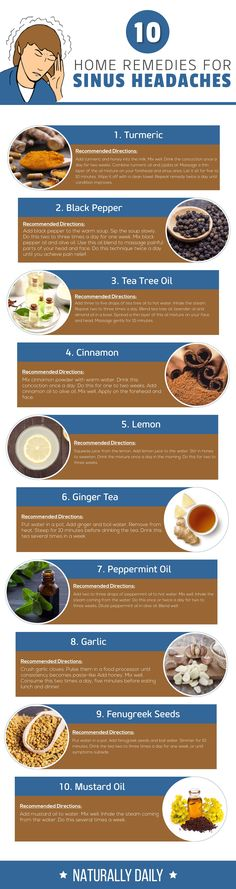 Natural Holistic Remedies 10 No-Fail Home Remedies for Sinus Headaches Home Remedies For Sinus, Sinus Infection Remedies, Cold And Cough Remedies, Allergy Remedies, Natural Headache Remedies, Flu Remedies, Holistic Remedies, Natural Home Remedies, Herbal Remedies