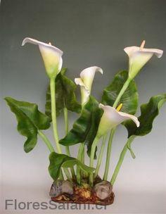 flores en ceramica en frio - Buscar con Google