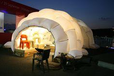 Pop Up Shop Design / Retail Design / Semi Permanent Retail Fixtures / VM / Retail Display / lambert kamps: pillow tent
