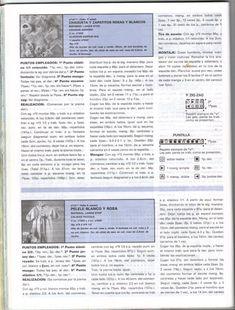 RECEITA TRICÔ FÁCIL: Lanas Stop N°61-Revista Tricô Bebês Free Knitting, Knitting For Kids, White Roses, Tricot, Journals, Eye, Computer File, Slip On
