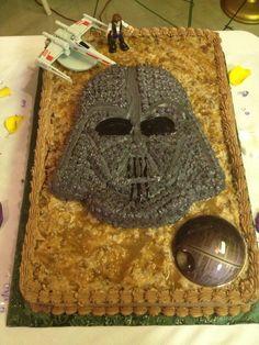 DARTH VADER CAKE by Linda Cupp