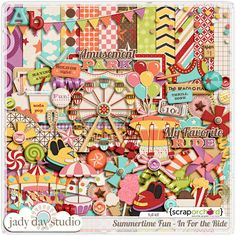 Love Jady Day Studio, this kit will be used to create fun birthday party favors for a friend's 2 year old daughter!