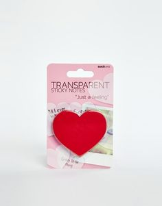 SUCK Heart Sticky Notes