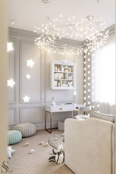 White kid bedroom | Bring the elegance and luxury to your kids' room with Circu Magical furniture! Check our white inspirations: CIRCU.NET