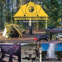 Bison and Geysers — Bike Overnights