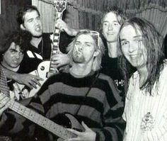 Kurt & Krist w/ The Melvins.<3