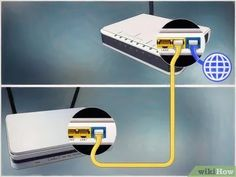 How to Connect One Router to Another to Expand a Network. This wikiHow teaches you how to add a secondary router to your home or small business network. If you want to add more computers or other devices to your home or small business. Computer Router, Router Wifi, Internet Router, Computer Help, Wireless Router, Computer Technology, Cable Modem Router, Computer Tips, Medical Technology