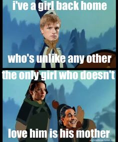 The Hunger Games/Mulan haha!