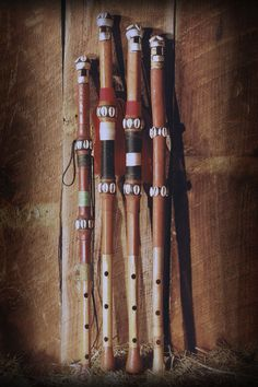 Traditional Fulani flutes (tambin) available at kassaflutes.com