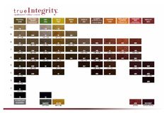 True Integrity Scruples Color Chart
