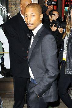 Pharrell Williams stylish, freakin' great musician too