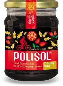POLISOL słód z kiełkujących zbóż DZIKA RÓŻA 250g BIO i EKO hurtownia