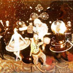 Ain't no party like a #bauhaus #christmasparty Remember to stay artsy weird and wonderful this holiday season!  #pikazo #pikazoapp #artstagram #christmas #holidayart #glitter #neuralart #artapp #photoart #freeapp #stars