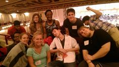 #SLSYO Powell Hall Scavenger Hunt on Sept. 6, 2014 – I hope we don't lose Caleb. Sometimes #trombones are kind of important
