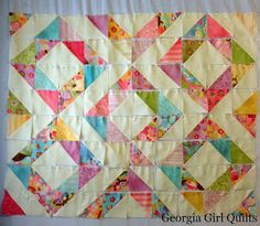 Georgia Girl Quilts: Anything Goes: Coquette Diamond Rings