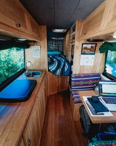 beautiful campervan conversion interior design build
