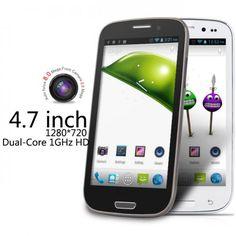 Stock en Europa,B92M MTK6577 1 GHz dual-core teléfono de 4,7 pulgadas con resolución HD de pantalla android 4.0 con HDR http://www.androidtospain.com/goods-1117.html Precio: €179.99 envío libre Dentro 45 laborales ,aceptamos devolucion ,todos nuestros tablets y moviles hay un año garantia !