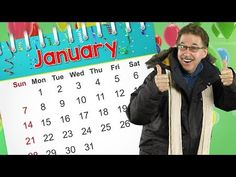 This January calendar song teaches about the month of January. Sing along and learn that January is the month of the year and that January starts a New Y. 1st Grade Calendar, Calendar Songs, January Calendar, Calendar Time, Kids Calendar, January 4, Silly Songs, Kids Songs, Jack Hartmann