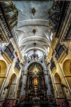 Altar mayor iglesia San Agustín Cádiz