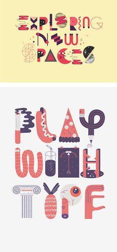 Typography & Illustrations by Jose Miguel Méndez