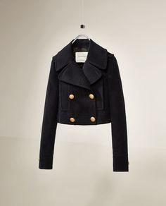 Image 6 of STUDIO THREE QUARTER LENGTH COAT from Zara