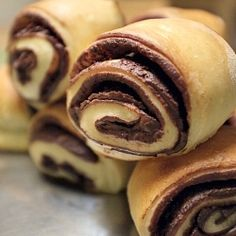 Chocolate swirls-Unfortunately the recipe is in Polish.