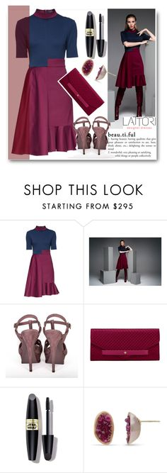 """""""LATTORI"""" by edy321 ❤ liked on Polyvore featuring Lattori, Yves Saint Laurent, Tory Burch and Max Factor"""