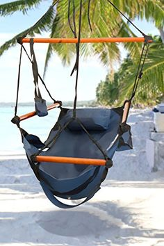 Best Choice Products® Hammock Hanging Chair Air Deluxe Sk...