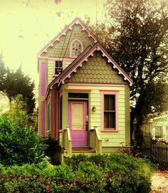 Just one of the many charming cottages in Cape May Point...