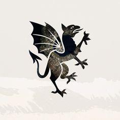Heraldry/Mythos Series - Tanya Johnston Illustration + Design