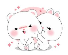 LINE Creators' Stickers - Mi cool & Taicutie : animation Example with GIF Animation Cute Love Pictures, Cute Love Gif, Cute Cat Gif, Cute Cartoon Pictures, Cute Love Cartoons, Love Cartoon Couple, Chibi Cat, Cute Chibi, Love Wallpapers Romantic