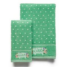 Celebrate Together Happy Spring Bath Towel Collection