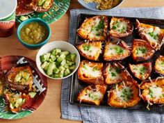 Game-Time Sweet Potato Skins - A game-day favorite gets a healthy makeover