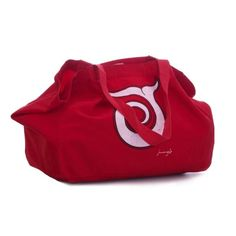 BORSA MARE IN COTONE Beach Quik red