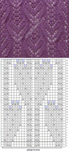 Free pattern knitting motif