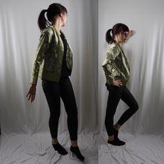 Jacket light green of india silk